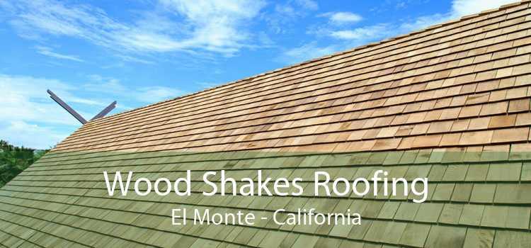 Wood Shakes Roofing El Monte - California